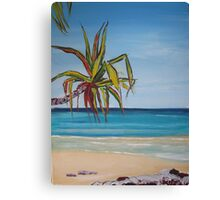 'Noosa beach' Canvas Print
