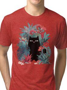 Popoki Tri-blend T-Shirt