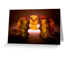 Gummy Bear Photography - A Summit Conference  Greeting Card