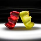 Gummy Bear Photography - I Got Your Back, You Got Mine.  by michalfanta