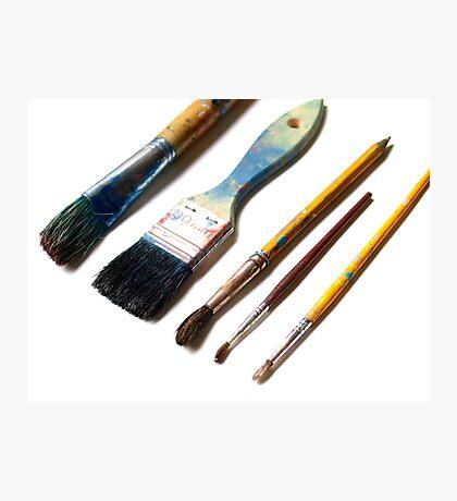 Paint Brushes Photographic Print