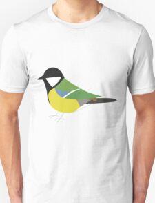 Great Tit Bird / Parus Major Unisex T-Shirt