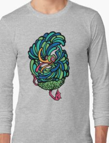 Crazy Bird Long Sleeve T-Shirt