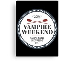Vampire Weekend // Cape cod rowing Canvas Print