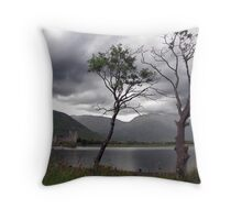 Storm watchers Throw Pillow