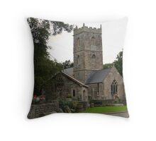 St Thomas Church Redwick  parish of Magor Throw Pillow