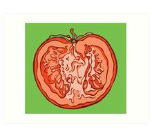 Anatomic Tomato Art Print