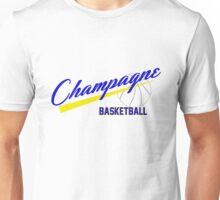 Champagne Basket 1 White Unisex T-Shirt