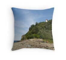 Northern Head Lighthouse Throw Pillow