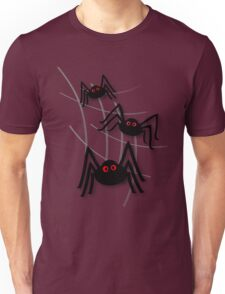 Creepy Spider Invasion Unisex T-Shirt