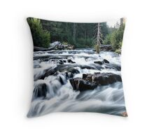 Farewell Bend Throw Pillow