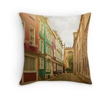 Wrapped in warmth Throw Pillow