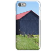 NICE BARN iPhone Case/Skin