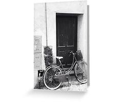 Vintage bicycle Greeting Card