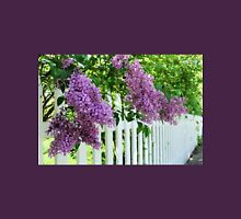 Lilacs Over the Fence Unisex T-Shirt