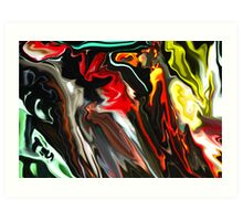 Marshall Lights Abstract  Art Print
