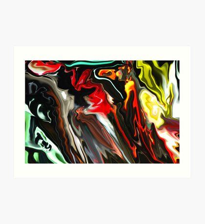Marshall Lights Abstract  Art Print