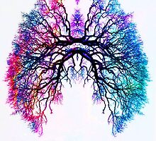 Breathe Branches Lungs by Telic