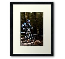 Gee Atherton Framed Print