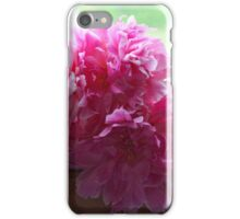 MY PEONIES iPhone Case/Skin