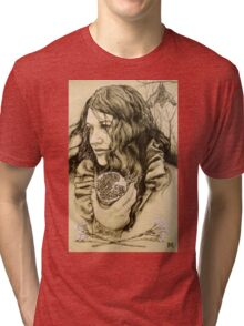 """""""Abduction of Persephone"""" section 2 of diptych Tri-blend T-Shirt"""