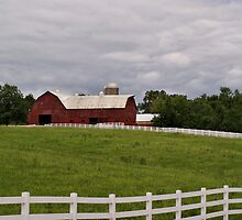 Red Barn by Sandy Keeton