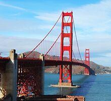San Francisco Golden Gate Bridge by Julie Duczynski