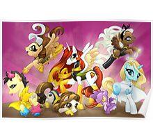 My Little Pony X-Women Poster