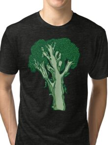Anatomic Broccoli Tri-blend T-Shirt