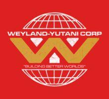 The Weyland-Yutani Corporation Globe Kids Tee