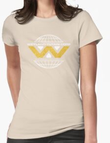 The Weyland-Yutani Corporation Globe Womens Fitted T-Shirt