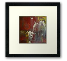 With Out Perfection Framed Print