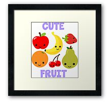 Cute Fruit Framed Print