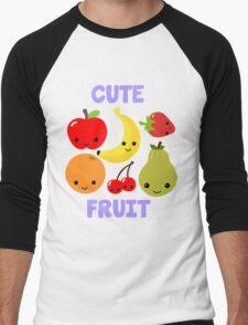 Cute Fruit Men's Baseball ¾ T-Shirt
