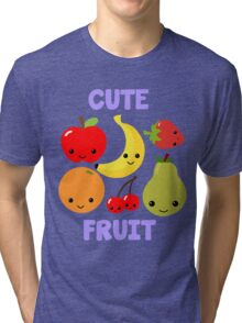 Cute Fruit Tri-blend T-Shirt