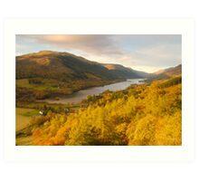 Balquhidder Braes & Loch Voil, Balquhidder, Loch Lomond & The Trossachs, Scotland Art Print