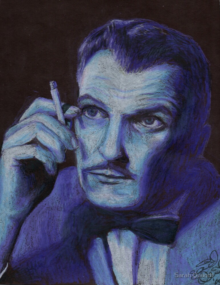 Vincent Price by Sarah Quandt