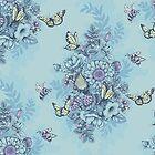 Beauty (eye of the beholder) - powder blue version by celandinestern