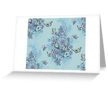 Beauty (eye of the beholder) - powder blue version Greeting Card