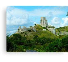 Corfe Castle, Dorset, England Canvas Print
