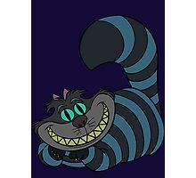 Disney and Burton's Cheshire Cat Photographic Print