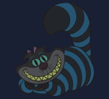 Disney and Burton's Cheshire Cat by Marconi Rebus