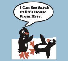 Antarctica Penguin humor by Rajee