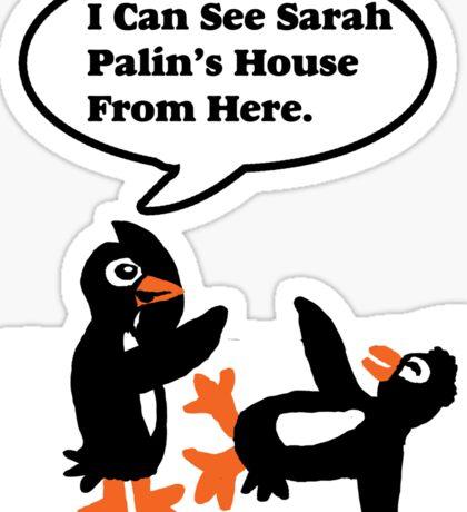 Antarctica Penguin humor Sticker