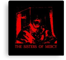 The Sisters Of Mercy - The Worlds End - Body Electric - Adrenochrome Canvas Print