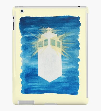 A Day in the Life of a TARDIS iPad Case/Skin