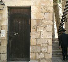 Walking back home from the yeshiva by maurolandau
