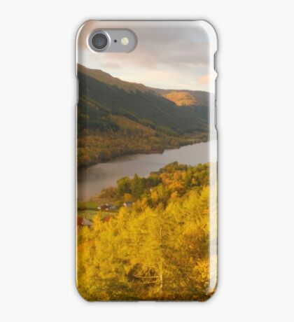 Balquhidder Braes & Loch Voil, Balquhidder, Loch Lomond & The Trossachs, Scotland iPhone Case/Skin