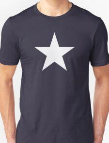 White Star Solid Unisex T-Shirt