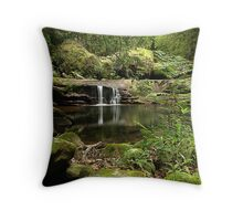 Lyrebird Pool, Kangaroo Valley, NSW Throw Pillow